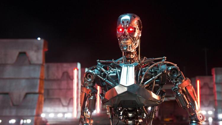 VIDEO: Surge un robot al estilo Terminator que sabe regenerar sus lesiones