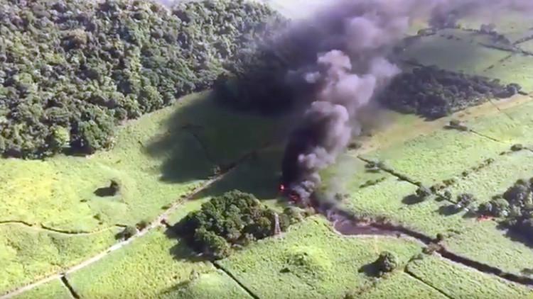 Explota ducto de Pemex en Veracruz; hay un muerto
