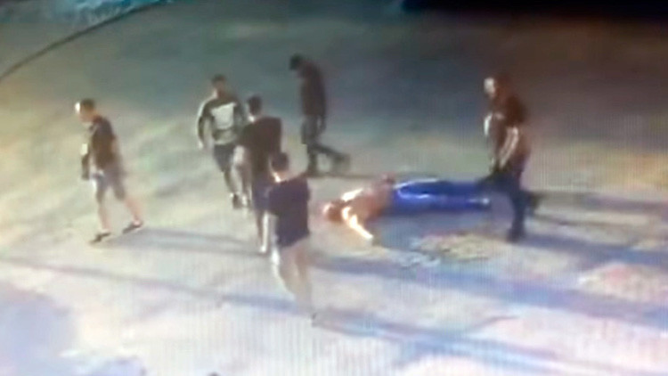 FUERTE VIDEO: Matan al campeón mundial de 'powerlifting' en una brutal  pelea en Rusia (18+)