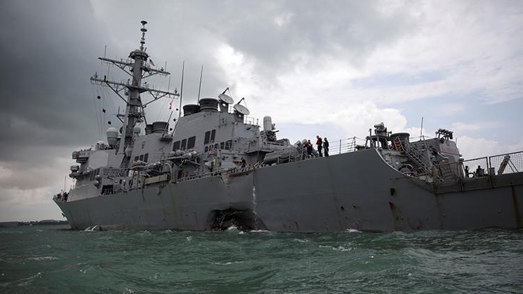La Armada de EE.UU. ordena una amplia investigación de la Flota del Pacífico por dos naufragios