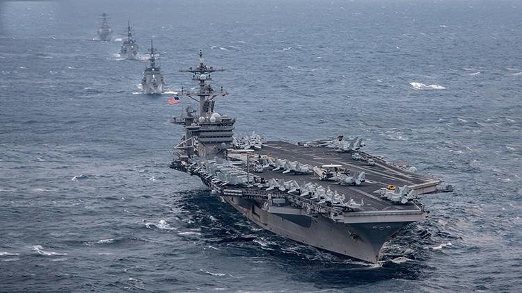 """La Armada de EE.UU. hace una """"pausa operativa"""" en todo el mundo tras la colisión en Singapur"""