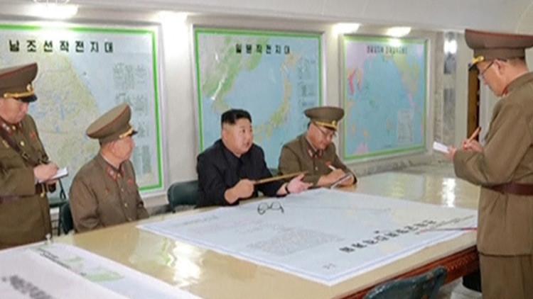 Kim Jong-un realiza una visita secreta a una unidad militar en la frontera con Сorea del Sur