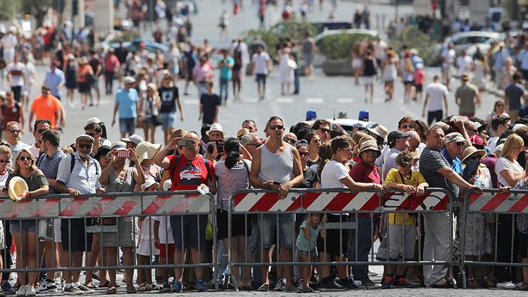Italia instala barreras de hormigón en lugares de interés turístico tras el atentado en Barcelona