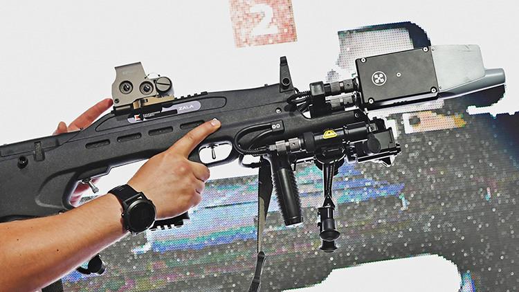 Kaláshnikov presenta un fusil 'asesino' de drones y telefónos móviles