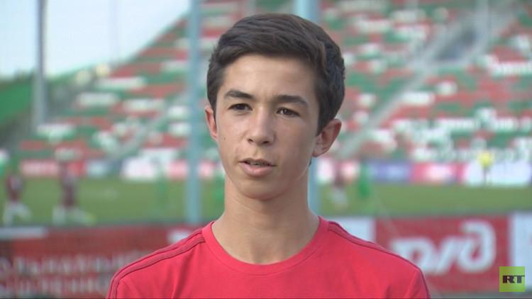 Un joven futbolista del Benfica nombra a su jugador ruso favorito