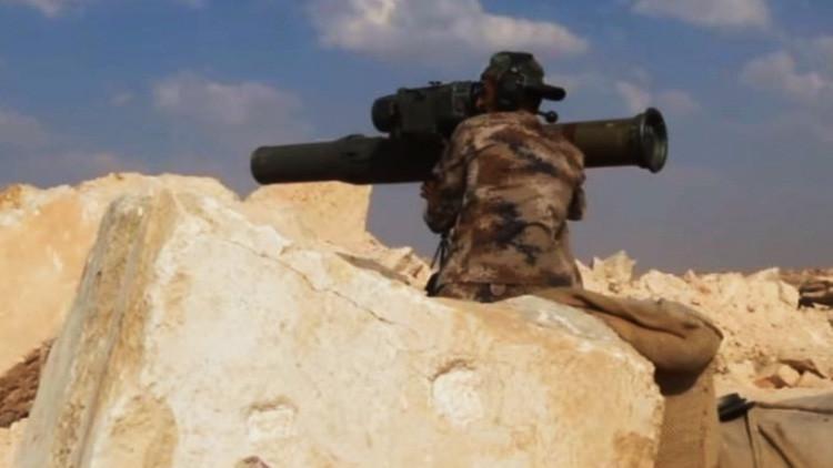 Video: Un kurdo destruye con un misil antitanque guiado un tractor turco