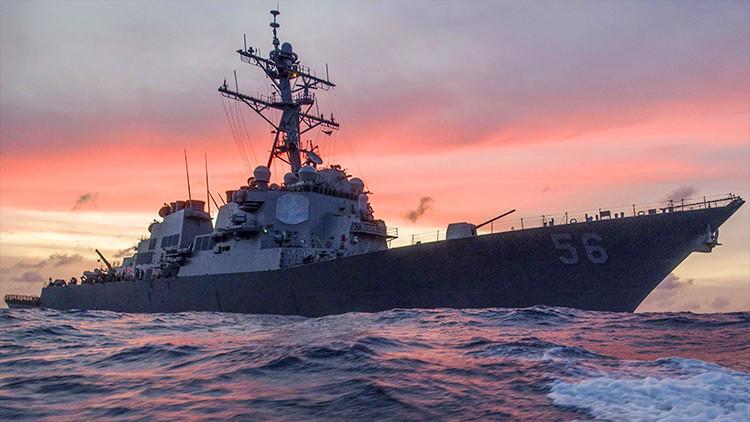 """""""La Armada de EE.UU. se convierte en un peligro en aguas asiáticas"""""""