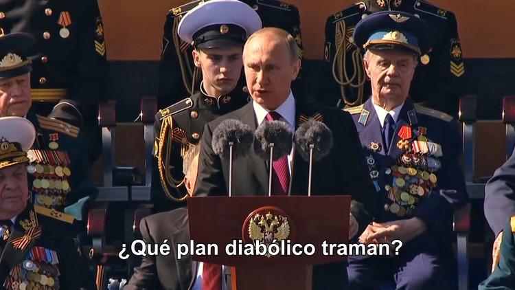 """¿Qué plan diabólico traman?"": Se viraliza un discurso de Putin que nunca pronunció (VIDEO)"