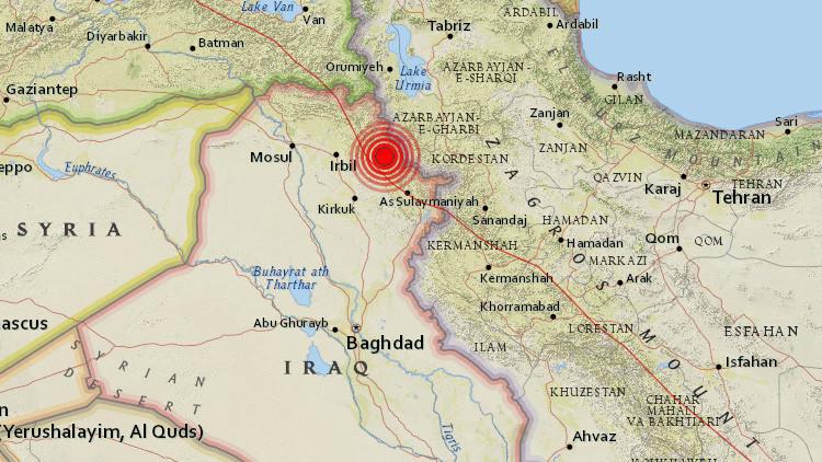 FOTOS: Un terremoto de magnitud 5,6 sacude Irak