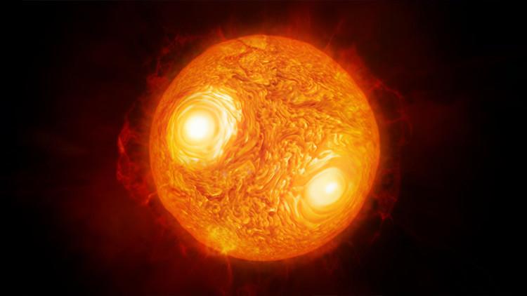 VIDEO: Científicos logran obtener la mejor imagen de una estrella que no sea el Sol
