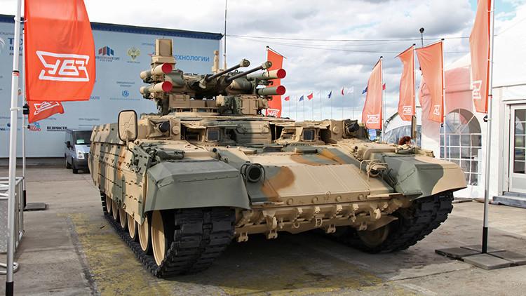 El Ejército ruso encarga un gran lote de blindados de apoyo Terminator y de misiles Iskander
