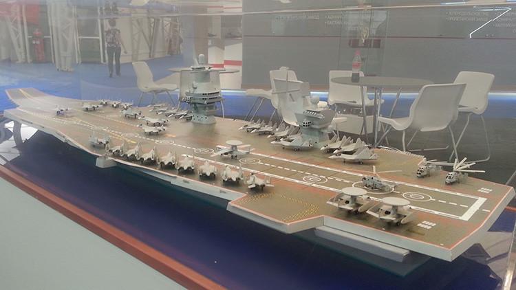 Rusia construirá un nuevo portaviones
