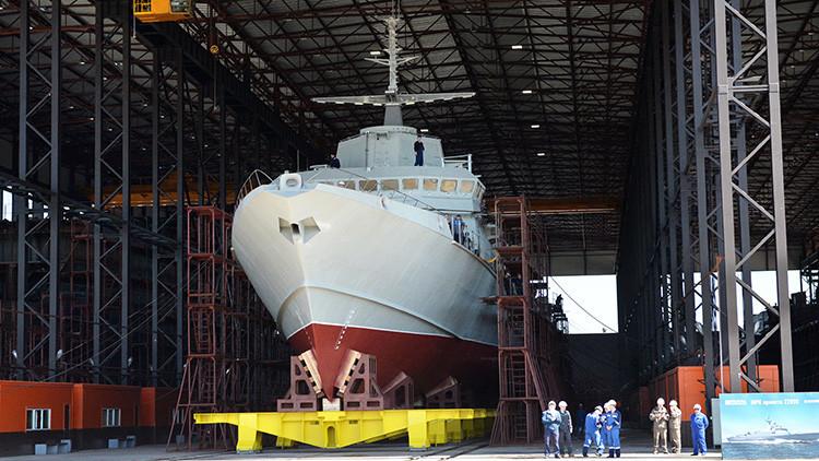 La Marina de Rusia encarga pequeñas y mortíferas corbetas clase Karakurt