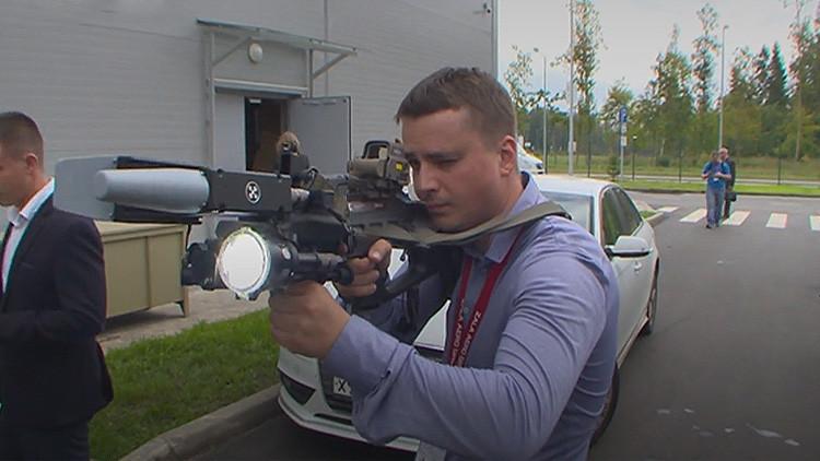 Así funciona el temible rifle Kaláshnikov que 'asesina' drones y teléfonos' (VIDEO)
