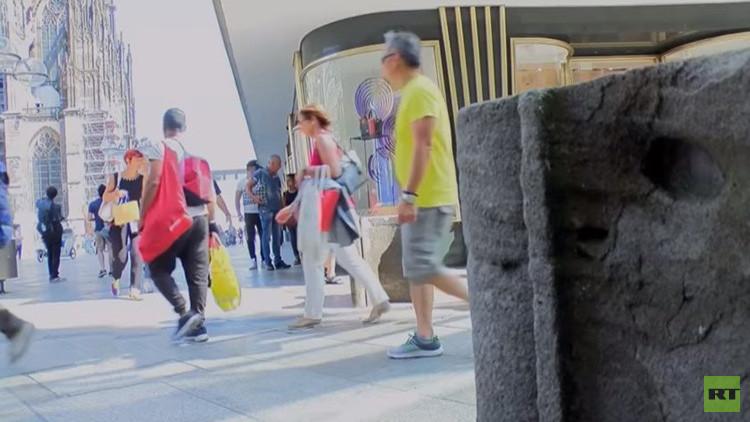 Alemania: Ciudadanos critican la instalación de obstáculos para prevenir atentados (VIDEO)