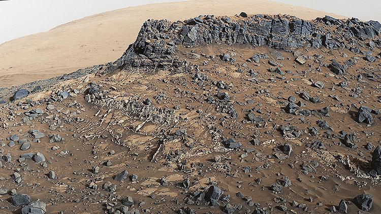 El Curiosity halla nueva evidencia acerca de la posibilidad de vida en Marte