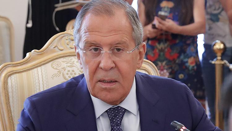 """Lavrov: """"La nueva estrategia de EE.UU. en Afganistán es inviable"""""""