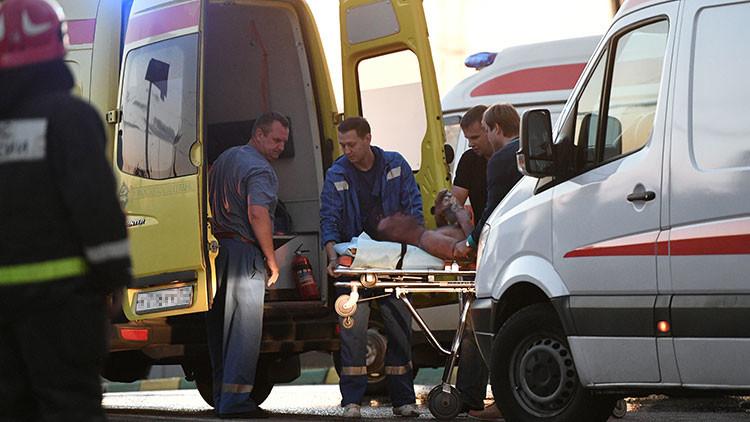 Numerosos muertos en un accidente de autobús en el sur de Rusia