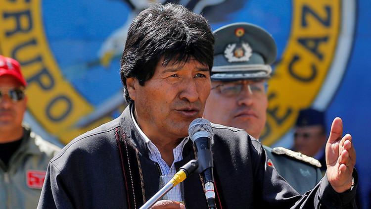 """Evo Morales: """"Si algo le pasara a Maduro, será responsabilidad de Vicente Fox"""""""