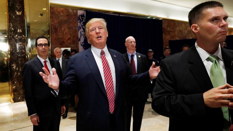 Vacaciones de Trump: 7.000 doláres en alquiler de baños de lujo gastó el Servicio Secreto de EE.UU.