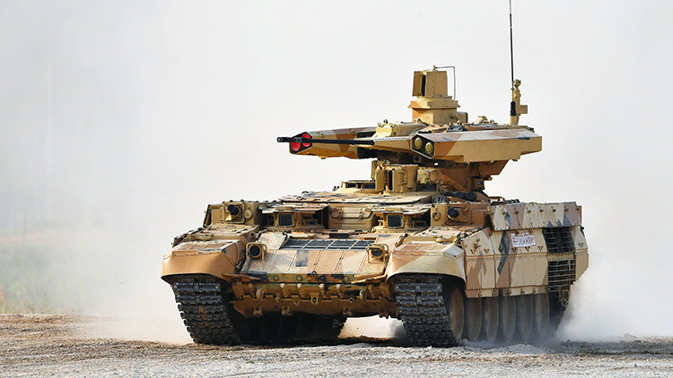 El vehículo del juicio final: ¿Por qué los militares rusos se deciden a adoptar el 'Terminator'?