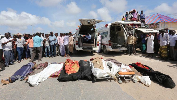 EE.UU. confirma su implicación en la muerte de 10 civiles por un ataque militar en Somalia