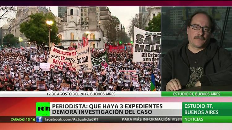 """La justicia cambia la carátula del caso Maldonado a """"desaparición forzada"""""""