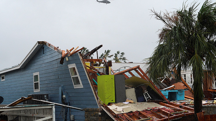 La devastación provocada por el huracán Harvey en su paso por Texas