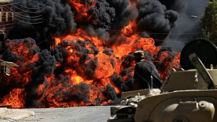El Ejército iraquí combate a sangre y fuego por el bastión terrorista de Tal Afar