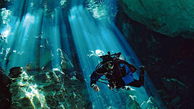México: Hallan fósiles de la Edad de Hielo en una cueva submarina de Yucatán