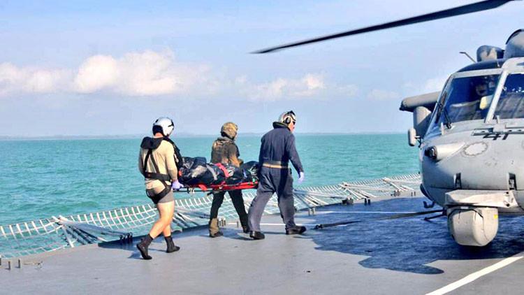 La Armada de EE.UU. recupera los restos de los 10 marinos desaparecidos tras la colisión en Singapur