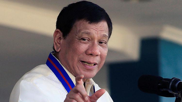 """Duterte: La Policía filipina puede matar a los """"idiotas"""" que se resistan al arresto"""