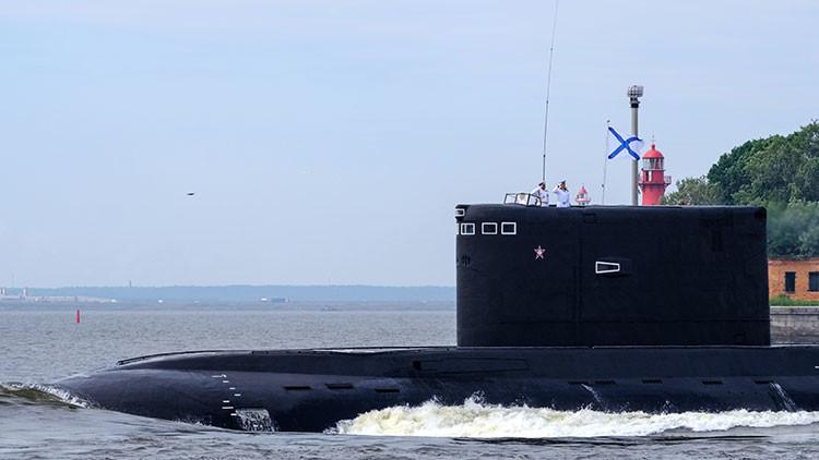 Rusia refuerza su escuadra en el Mediterráneo con dos submarinos de ataque