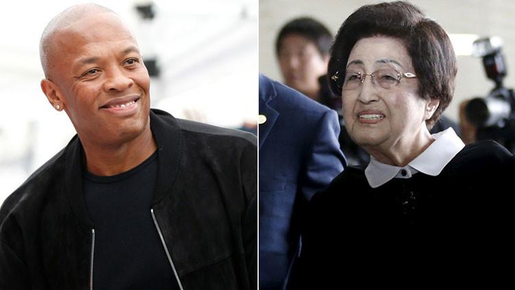 Multan a bloguero por publicar que ex primera dama surcoreana de 94 años se casa con famoso rapero