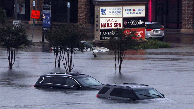 El huracán Harvey en EE.UU.