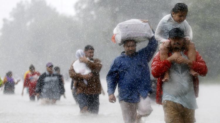 El huracán Harvey bate el récord de precipitaciones en la historia de EE.UU.