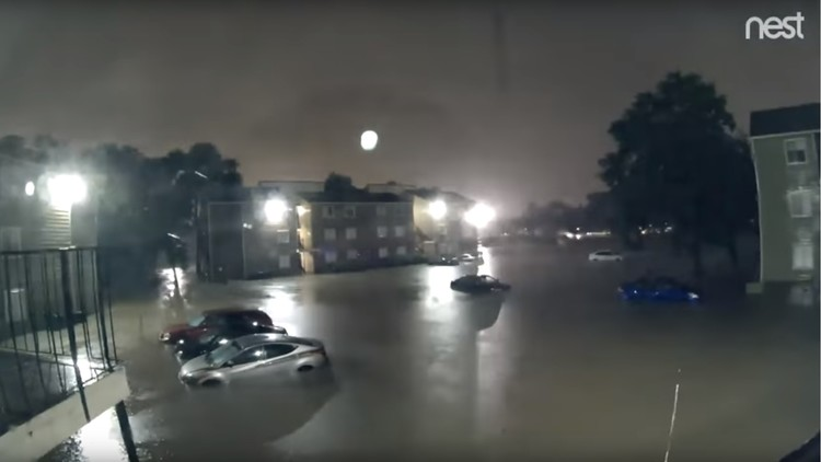 VIDEO: Un 'timelapse' revela cómo el huracán Harvey se apoderó de Houston en 15 horas