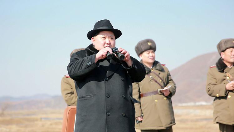FOTOS: Kim Jong-un presencia el último lanzamiento del misil Hwasong-12