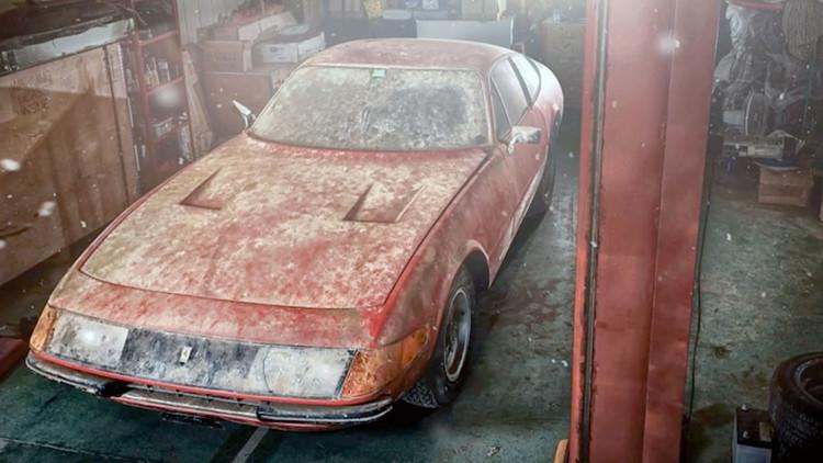 'Resucita' después de 40 años un Ferrari único que valdría más de 1.700.000 dólares (FOTOS)