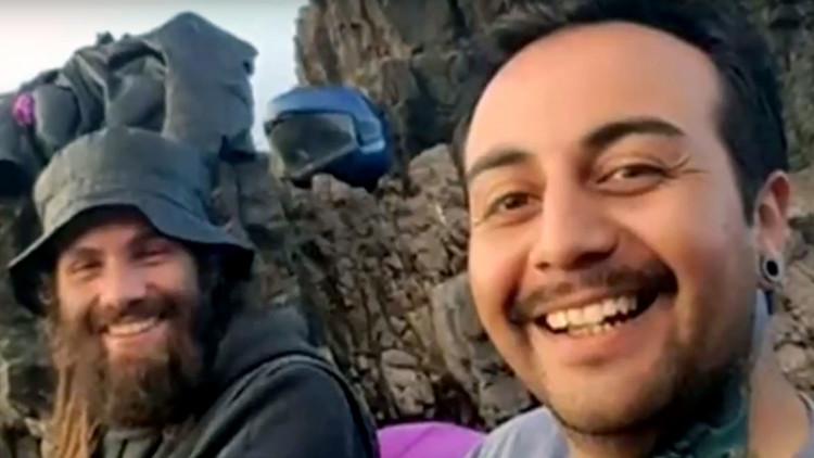 Difunden nuevas imágenes de Santiago Maldonado antes de su desaparición con un aspecto diferente