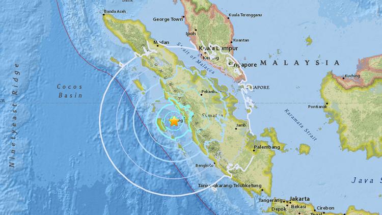 Un terremoto de magnitud 6,2 sacude las costas de Indonesia