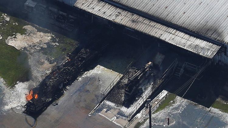 Dos explosiones en una planta química cerca de Houston tras la tormenta Harvey