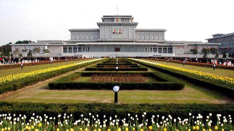 El Palacio del Sol de Kumsusan en Pionyang, Corea del Norte