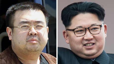 Kim Jong-nam (izquierda) y el líder norcoreano, Kim Jong-un (derecha).