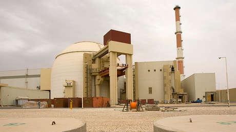 El reactor de la central nuclear de Bushehr, Irán, el 25 de febrero de 2009.