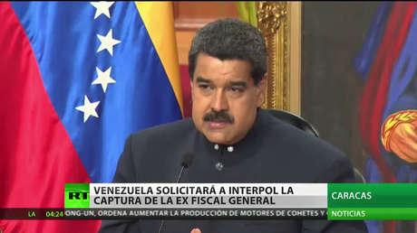 Venezuela solicitará a la Interpol la captura de Luisa Ortega Díaz y Germán Ferrer
