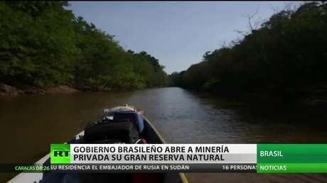 Brasil abre a la minería privada su gran reserva natural