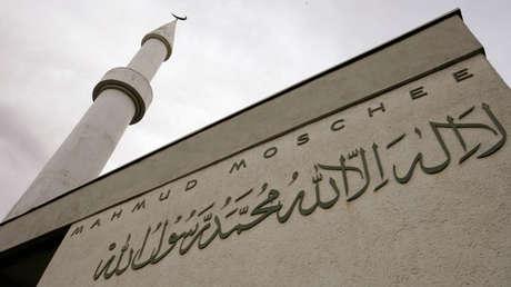 La mezquita Mahmood, Zúrich, Suiza.