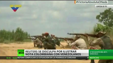 Reuters se disculpa por ilustrar una nota sobre Colombia con imagen de altos oficiales venezolanos