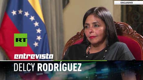Delcy Rodríguez, presidenta de la Asamblea Nacional Constituyente de Venezuela (ANC).